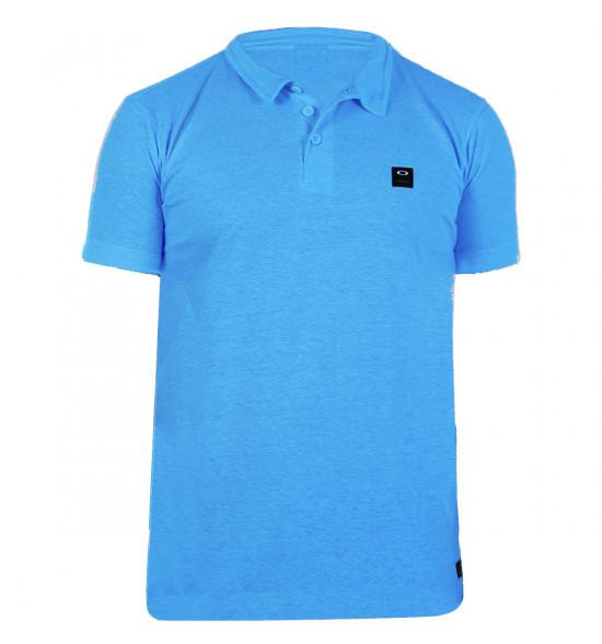 Camisa Polo Oakley Atiba 2.0  Azul