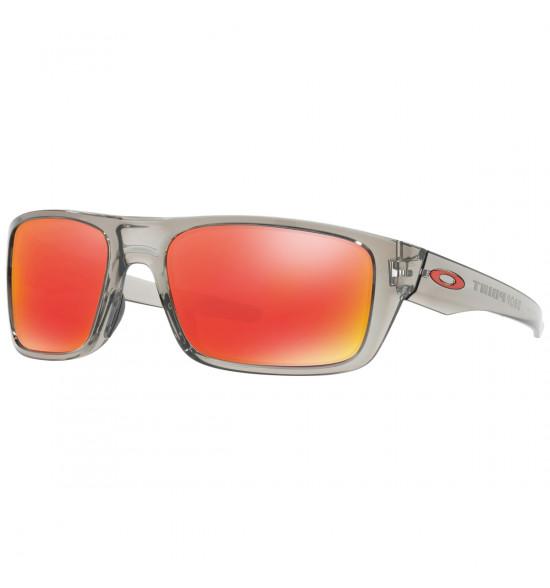 Óculos Oakley Drop Point Grey Ink/ Lente Ruby Iridium