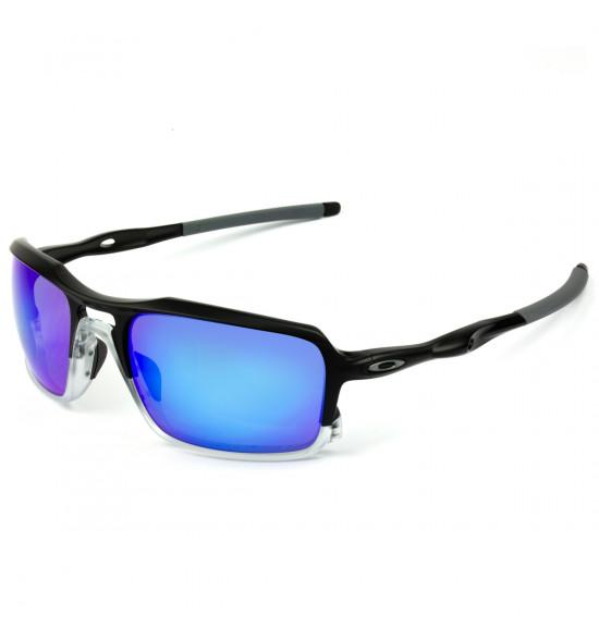 e9441a3c1 Óculos Oakley Triggerman Matte Black/Lente Sapphire Iridium Polarizado