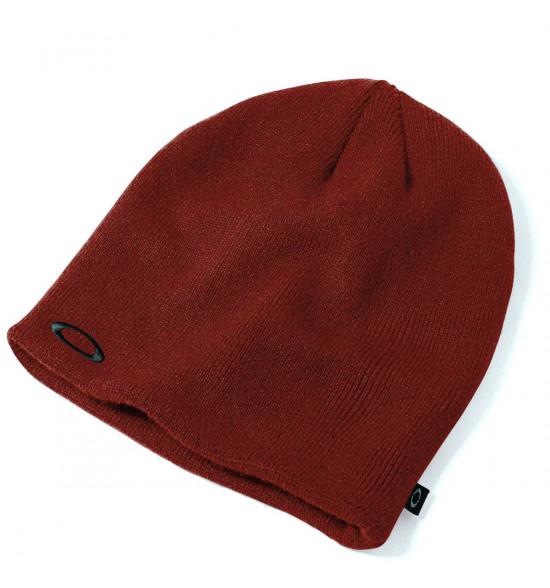 Gorro Oakley Fine Knit Beanie Cobre