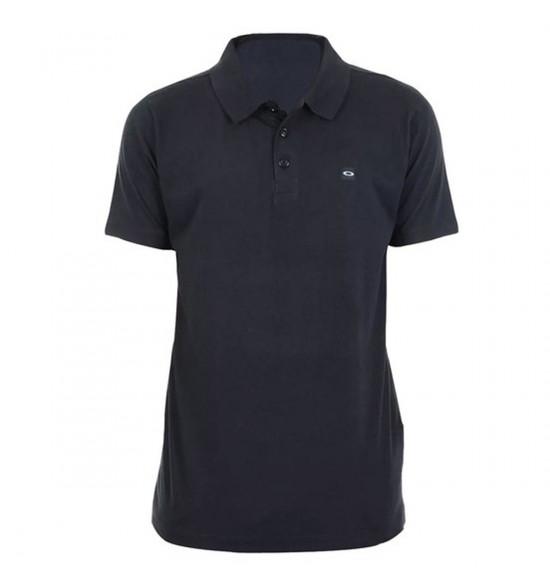 Camisa Polo Oakley Patch Preto