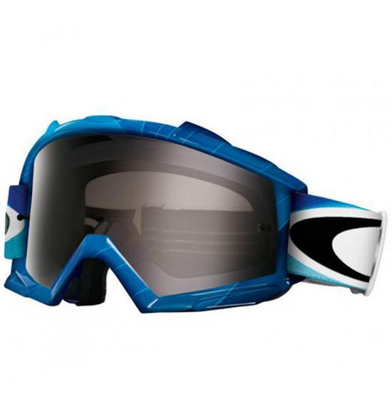 Óculos Goggle Oakley Proven MX H2O/Lente Dark Grey