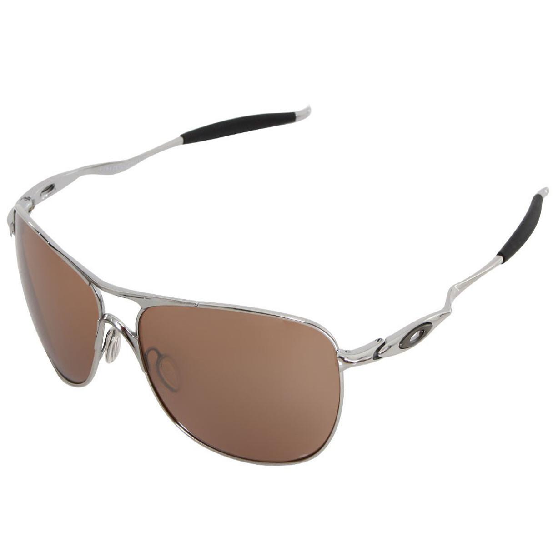 b3b6d556c1356 Óculos Oakley Crosshair Chrome Lente VR28 Black Iridium ref OO4060-02