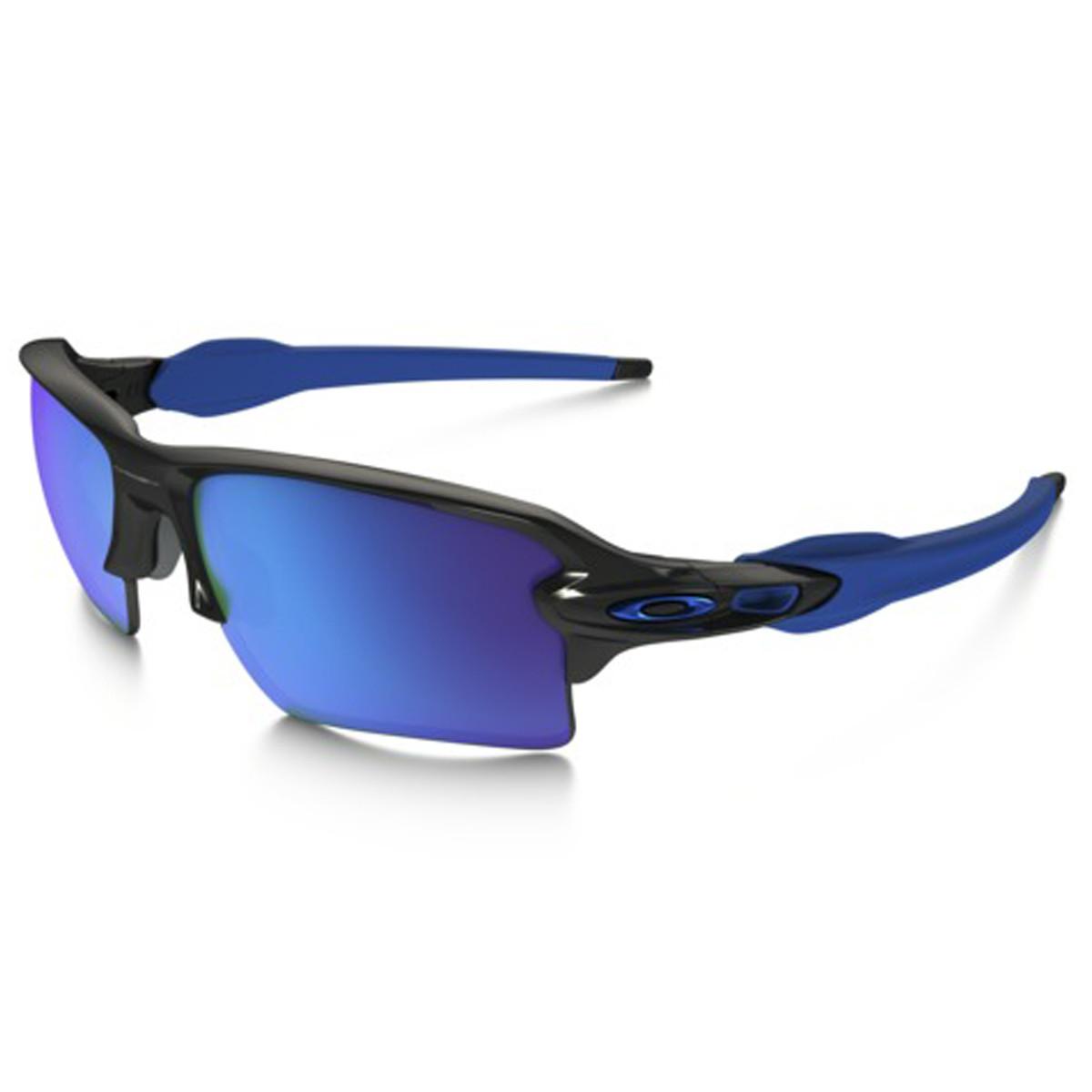 Óculos Oakley Flak 2.0 XL Polished Black Sapphire Iridium Ediçao Limitada  Olimpíadas Rio 2016 LANÇAMENTO 7413c0fbf6