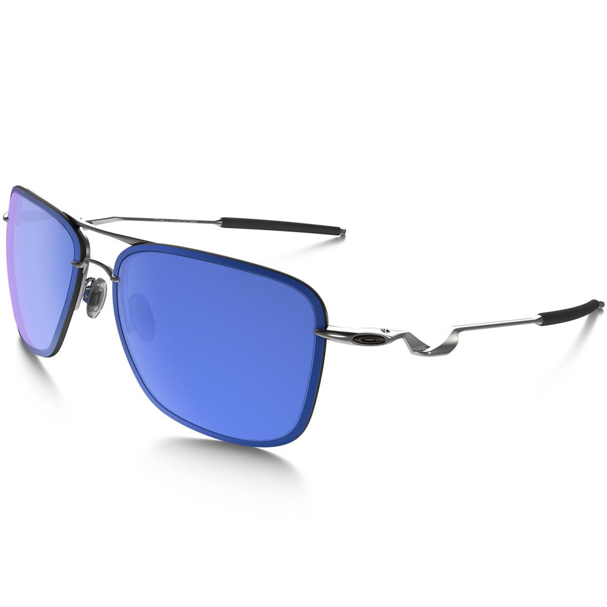 Óculos Oakley Tailhook Satin Chrome Com Ice Iridium LANÇAMENTO ref ... e914d23316