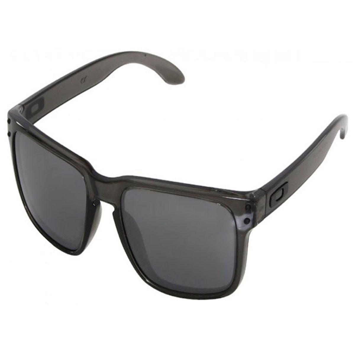 Óculos Oakley Holbrook Grey Smoke Lente Black Iridium ref OO9102-24 f6e583a5c0