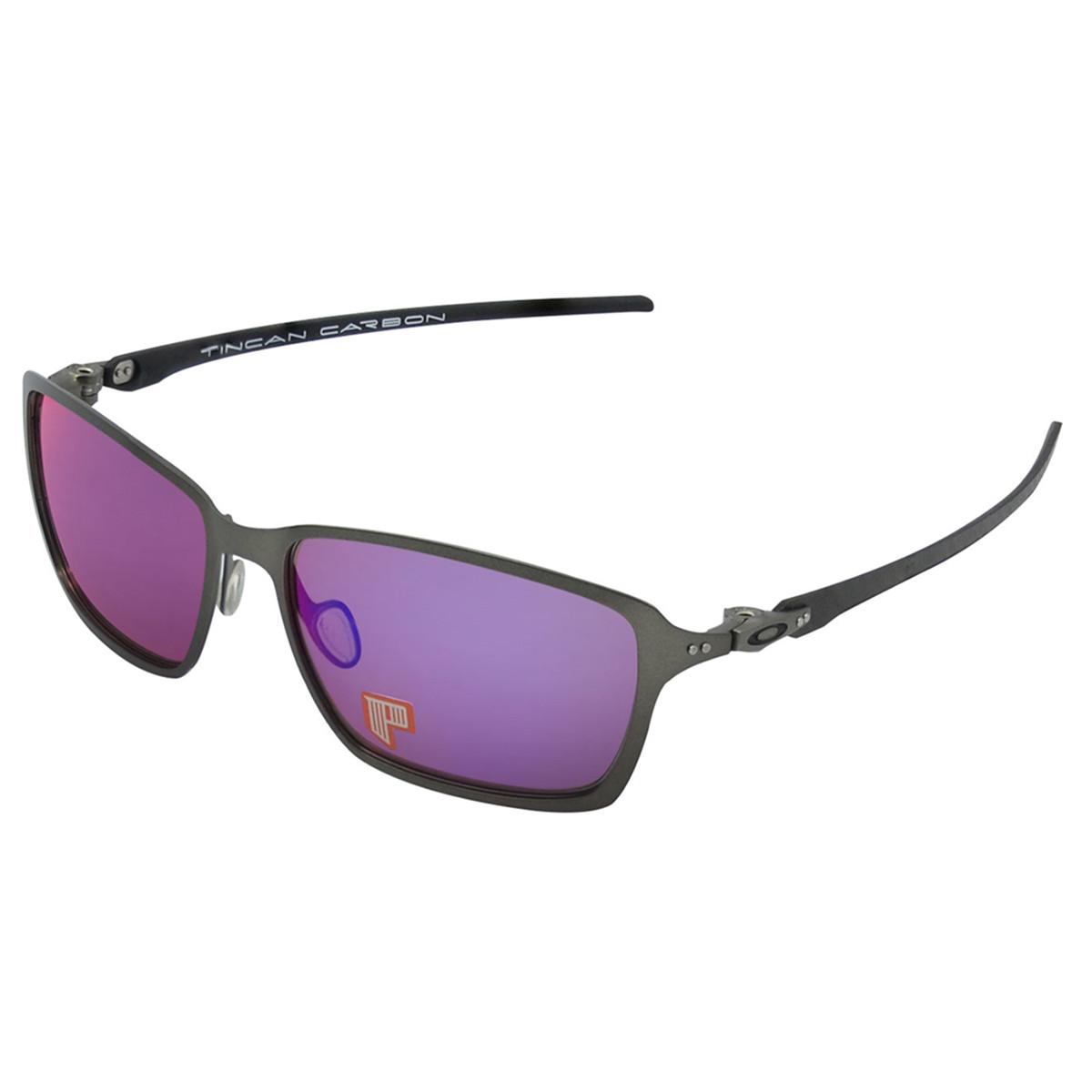 Óculos Oakley Tincan Carbon Lente Red Iridium Polarizado ref OO6017-03 859fd67083