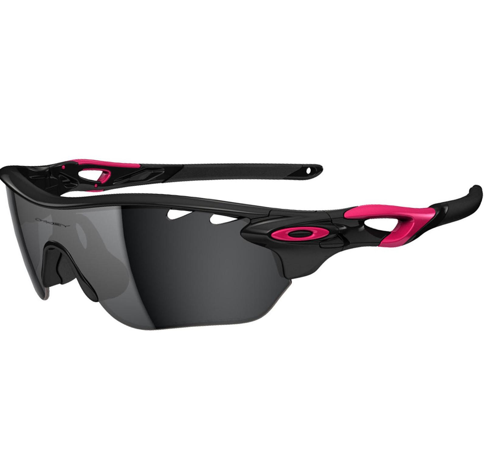 Óculos Oakley RadarLock Edge Polished Black  Black Iridium e Clear VR28  LANÇAMENTO 74d55e14e4