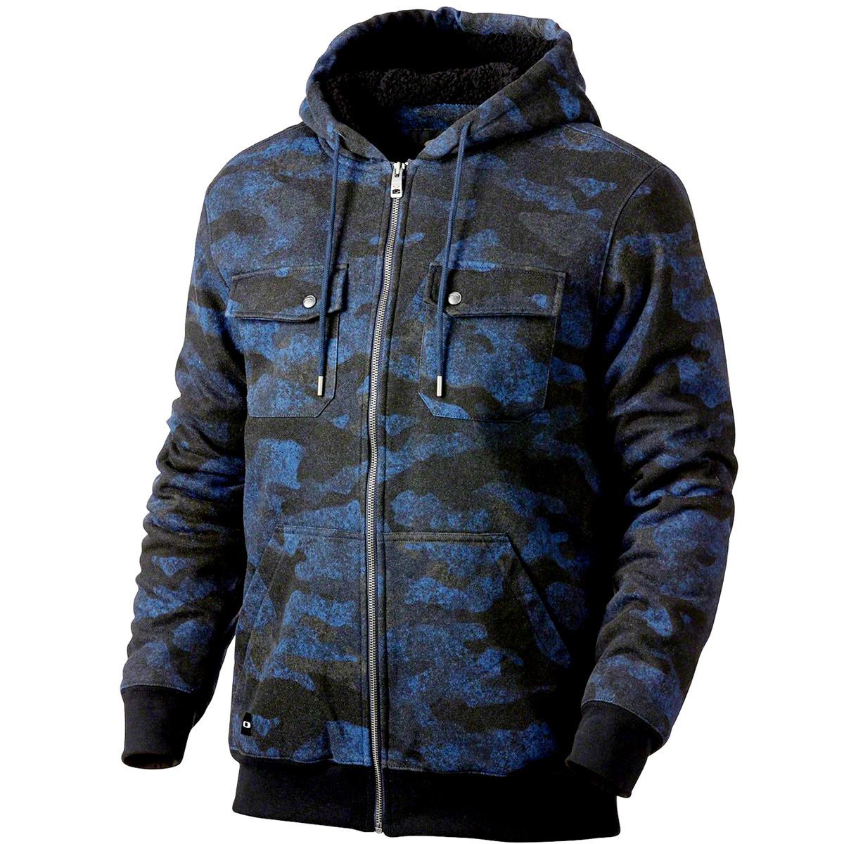 Moletom Oakley Agent Hoodie Camuflado Azul ref 472076-60B 999b5acea4