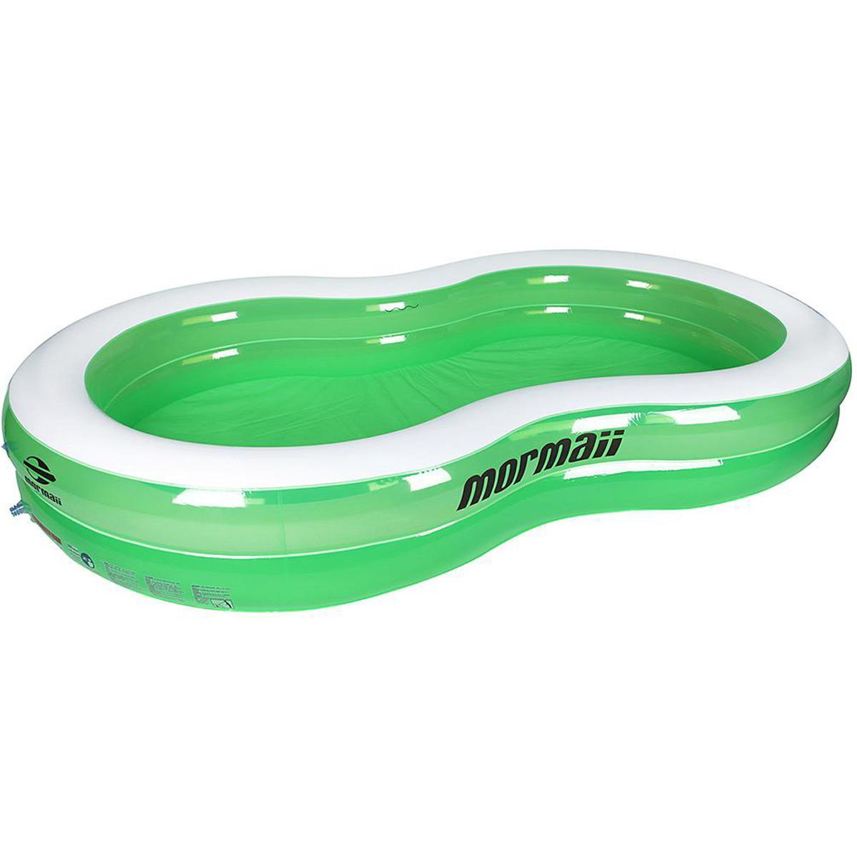 Praia piscina infl vel mormaii oval 790 litros ref 31315107 for Piscina inflavel 8 mil litros