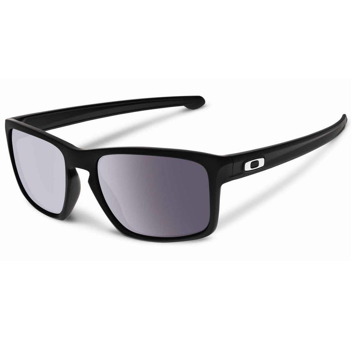 a963139c6028a Óculos Oakley Sliver Preto Fosco Lente Warm Grey ref OO9262-01