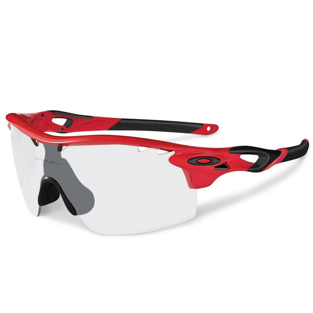 06a8c3e683667 Óculos Oakley RadarLock Infrared Lente Clear to Black Iridium ref ...