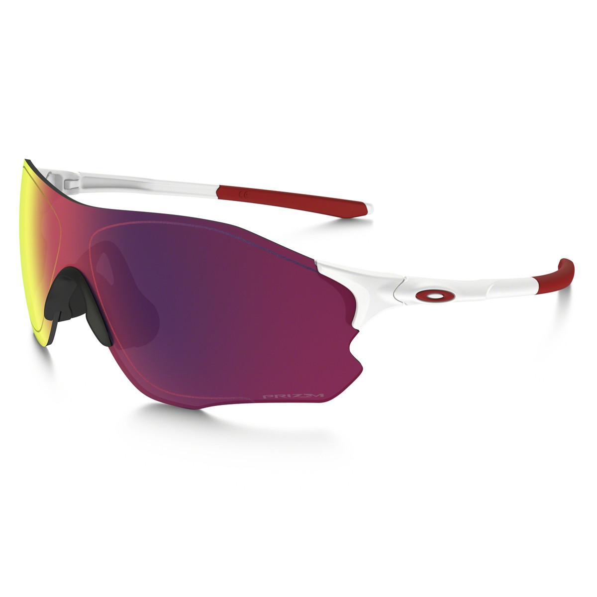 da616816872f0 Óculos Oakley EvZero Path Matte White Lente Prizm Road Polarizado