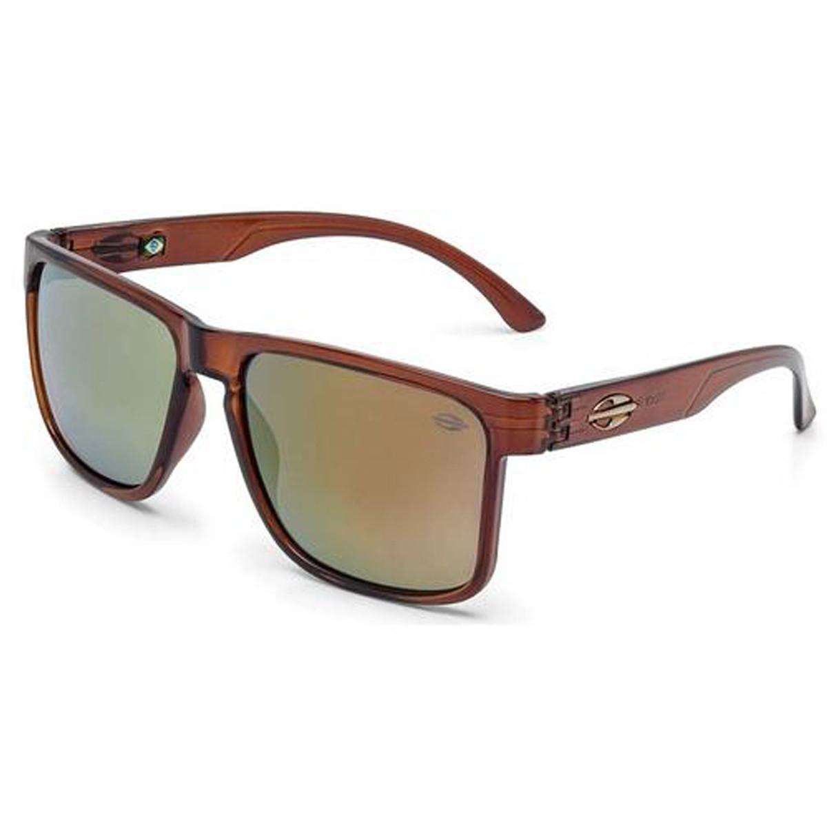 Óculos Mormaii Monterey Marrom Brilho Lente Dourado ref M0029J3996 d9ca6e3dd3