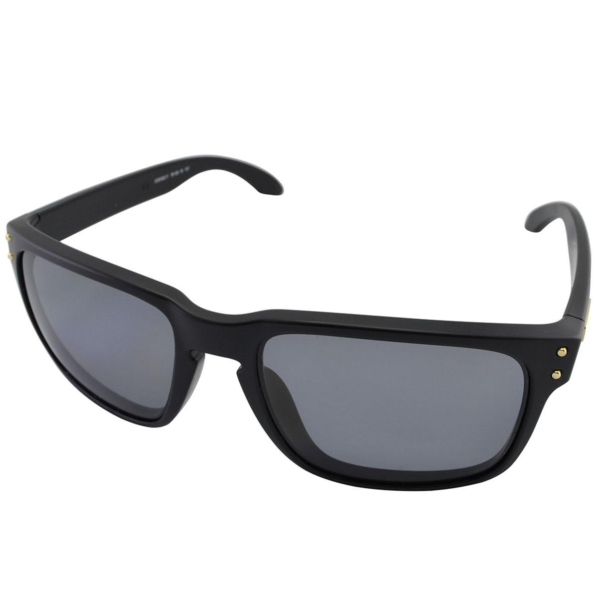 4f735f5f62a6f Óculos Oakley Holbrook Shaun White Gold Signature Matte Black Lente ...
