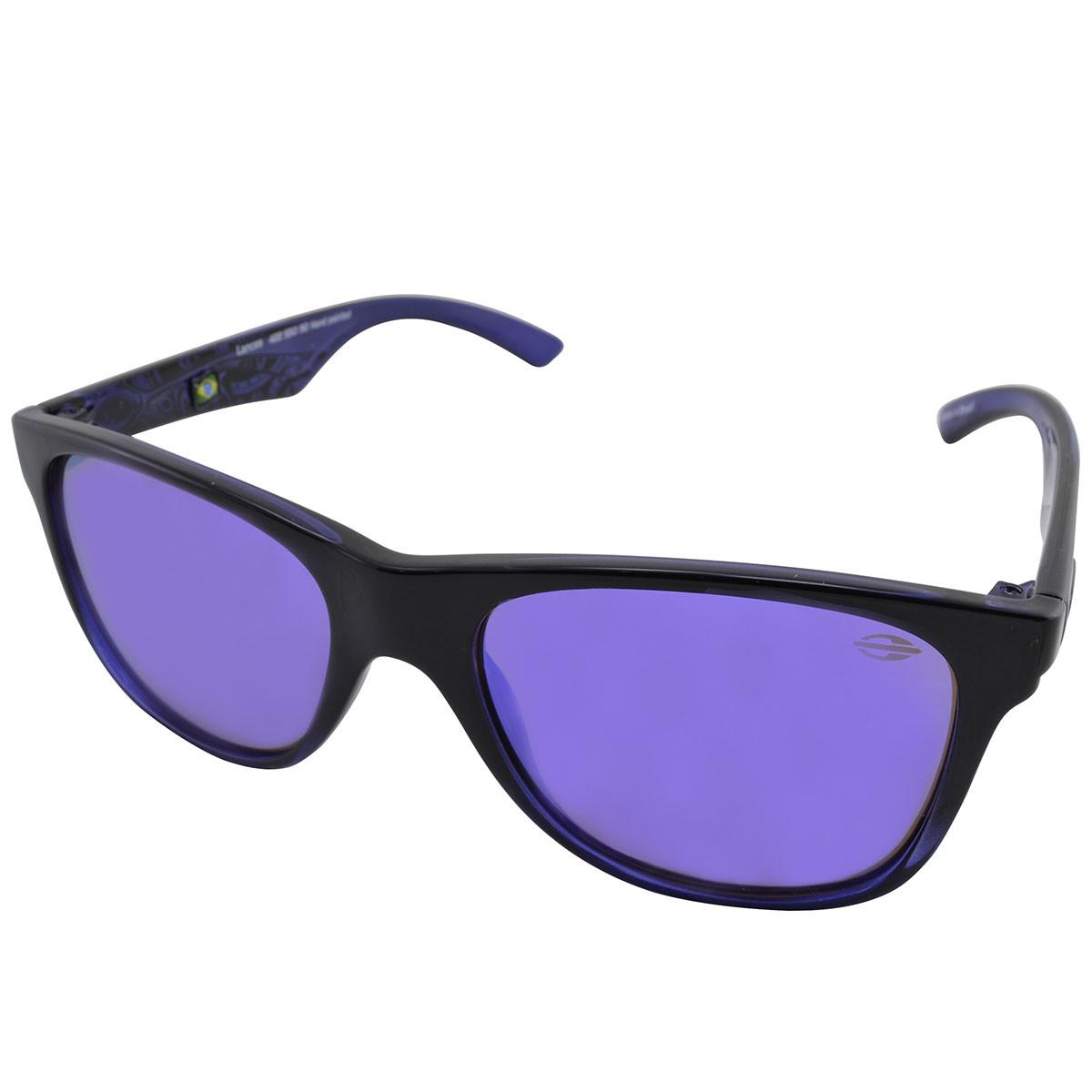 Óculos Mormaii Lances Preto Brilho Lente Violeta ref 42255092 eab1cae931