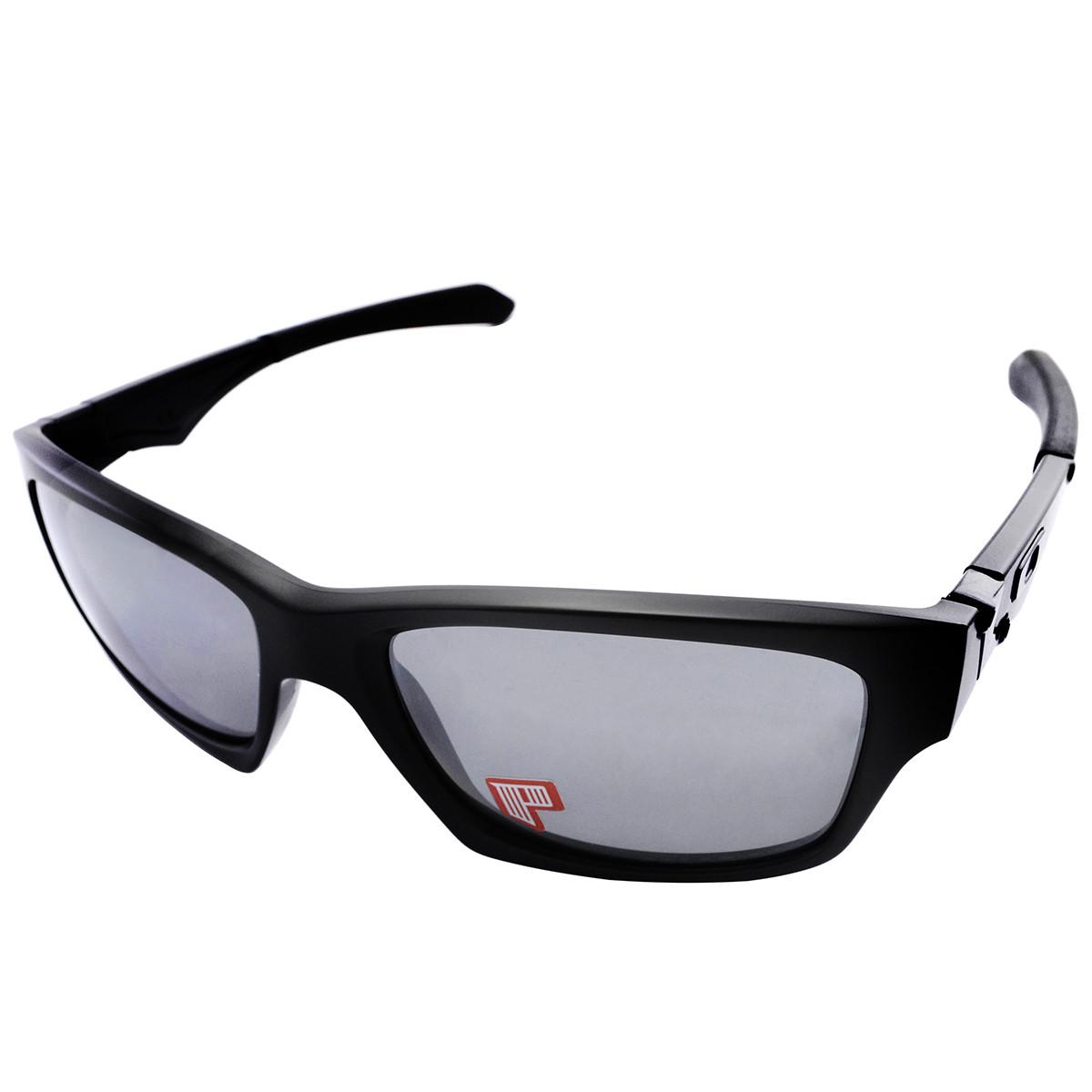 Oculos Oakley Jupiter Matte Black  Black Iridium Polarizado ref ... 3bcf292f1d