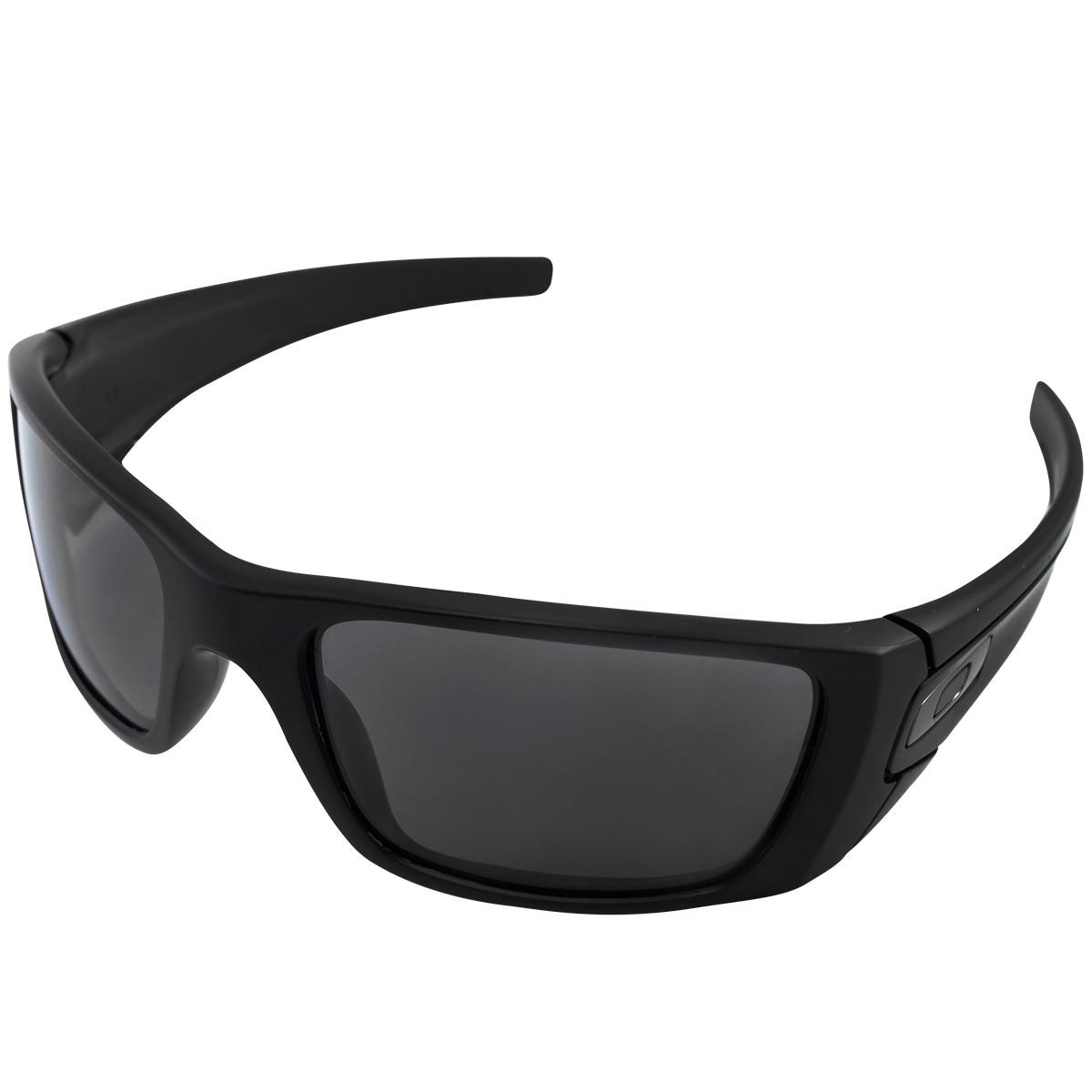 179337f3559f5 Óculos Oakley Fuel Cell Matte Black Lente Grey Polarizado ref OO9096-05