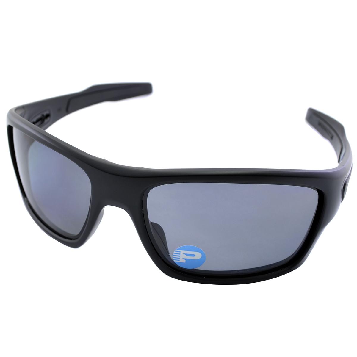 Óculos Oakley Turbine Matte Black Lente Grey Polarizada ref OO9263-07 04b8ed5065