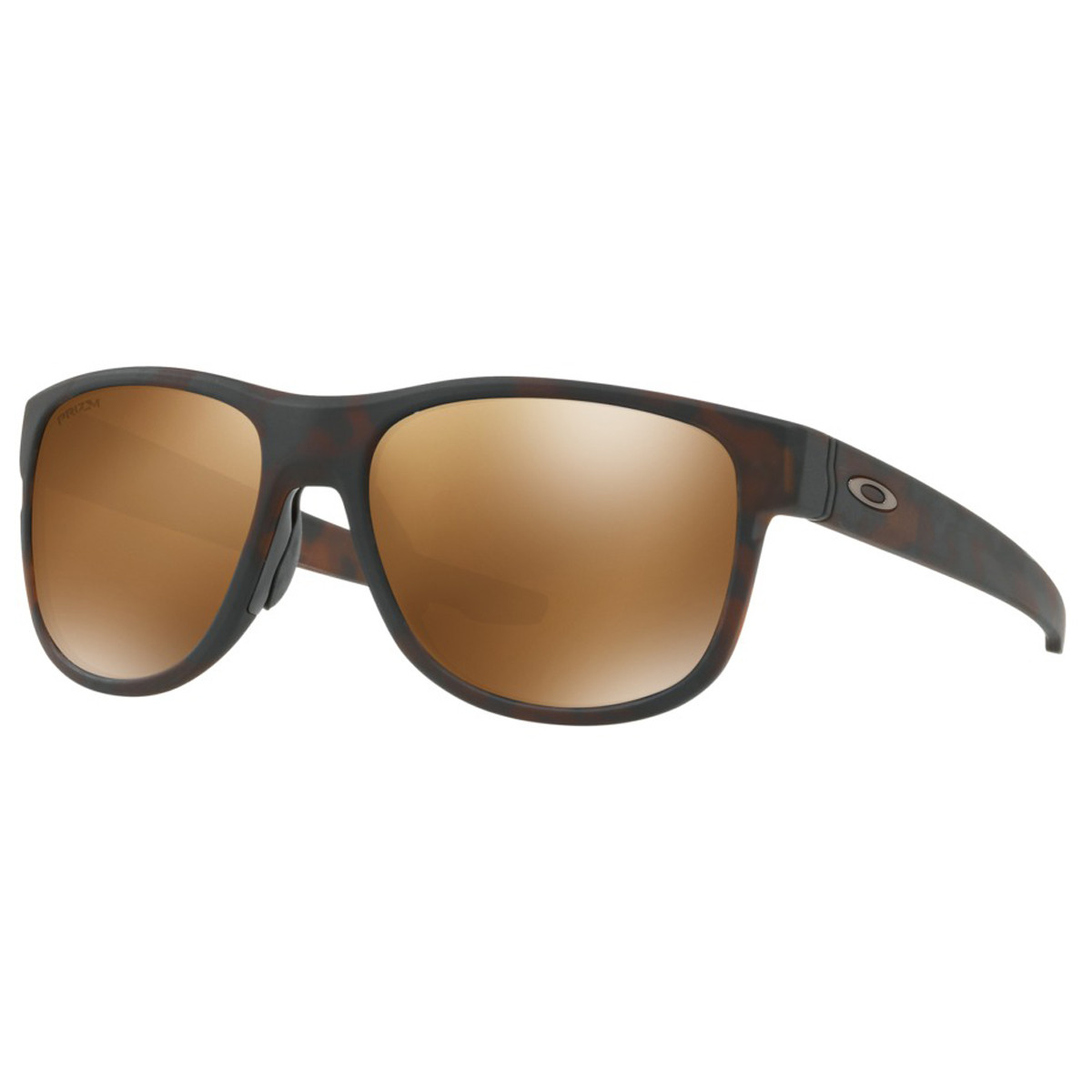 770d8b09f6620 Óculos Oakley Crossrange R Matte Tortoise  Lente Prizm Tungsten Polarizado