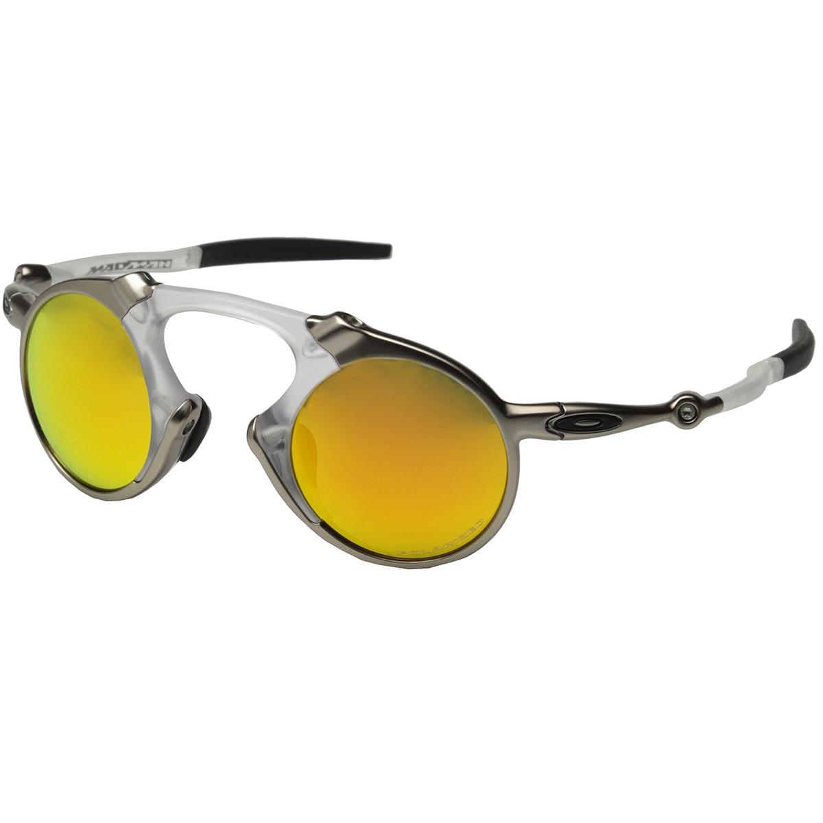 Óculos Oakley Madman Plasma Com Fire Iridium ref OO6019-07 d4f3b2023f