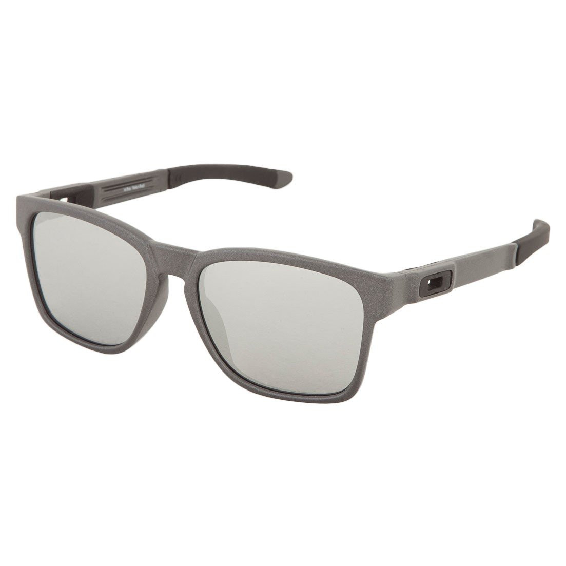 9bff4b0a59a3b Óculos Oakley Catalyst Steel  Lente Chrome Iridium ref OO9272-03