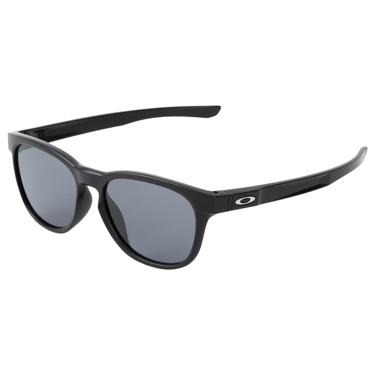 Óculos Oakley Stringer Matte Black Lente Grey ref OO931501 cbab2e8988