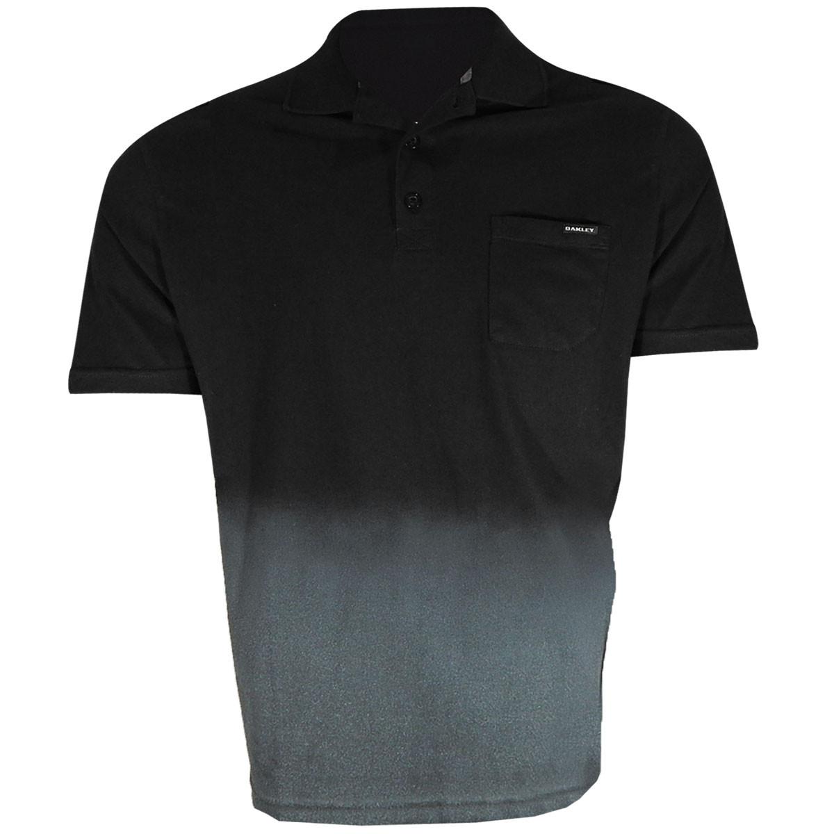 Camisa Polo Oakley Friction Degrade Preta PROMOÇÃO Ultima Peça tam G ... a8dd78e2c1