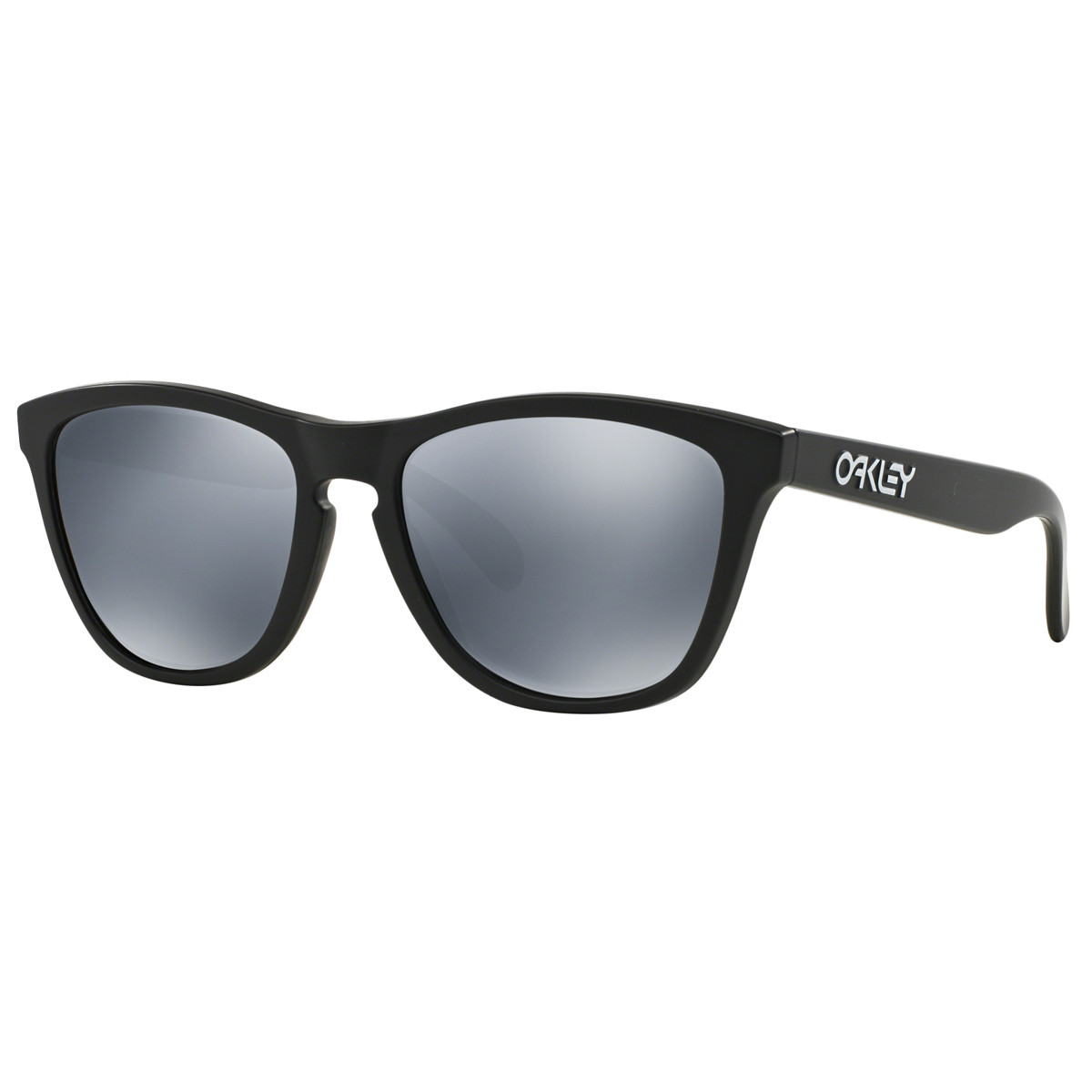 Óculos Oakley Frogskins Matte Black  Lente Black Iridium Polarizado ... c8088213d6