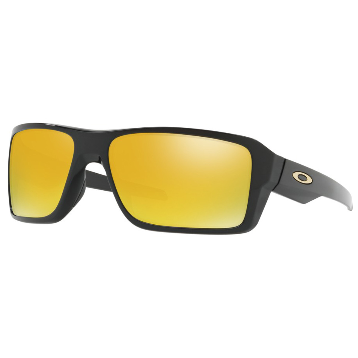 Óculos Oakley Double Edge Polished Black  Lente 24k Iridium ref ... a0a04874de