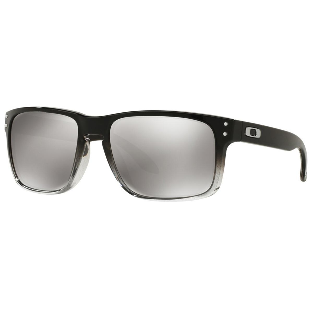 Óculos Oakley Holbrook Dark Ink Fade  Lente Chorme Iridium Polarizado 74b38d3368