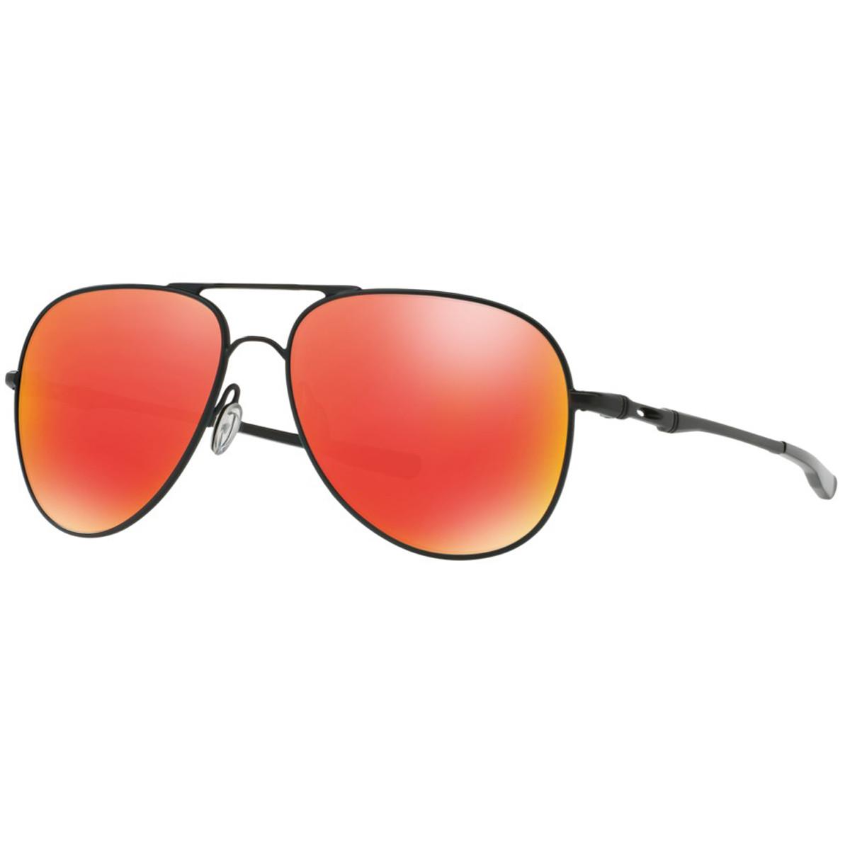 Óculos Oakley Elmont L Satin Black  Lente Ruby Iridium ref OO4119-04 46633c2ff2