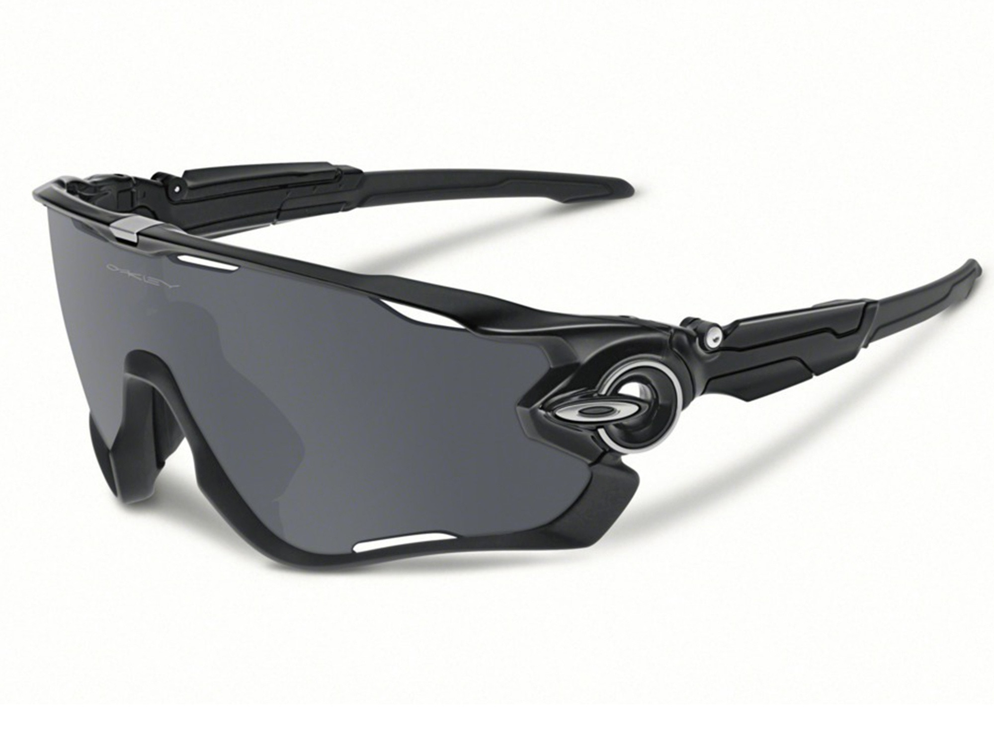 0542f1204f669 Óculos Oakley JawBreaker Polished Black Lente Black Iridium ref ...