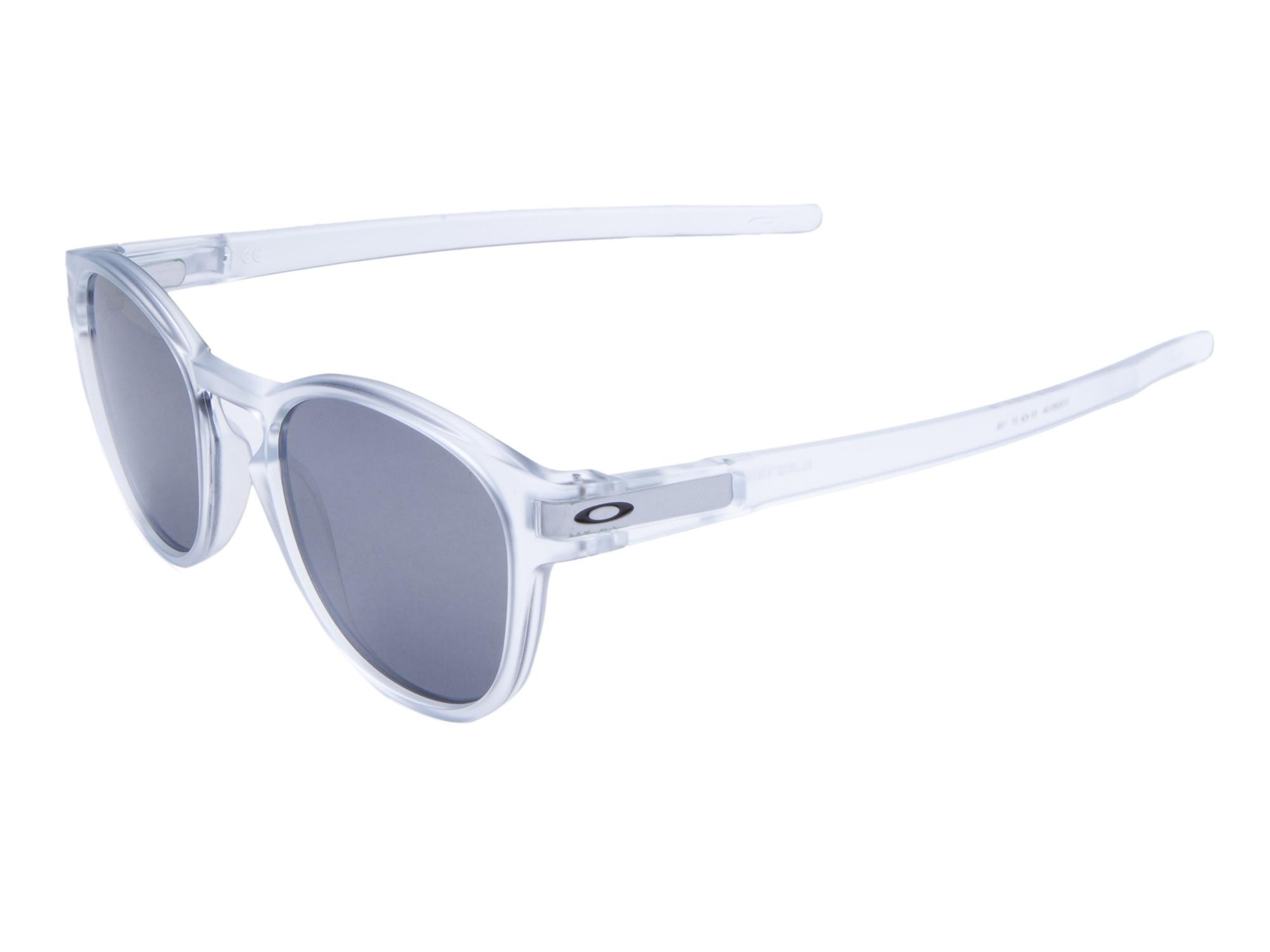 Óculos Oakley Latch Matte Clear Lente Black Iridium ref OO926504 7fc9f7388a