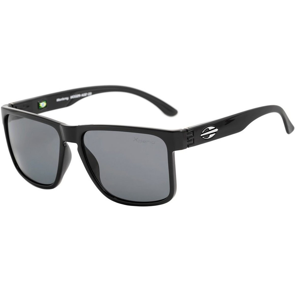 Óculos Mormaii Monterey Preto Brilho  Cinza Polarizado ref M0029A0203 6a5a54a06f