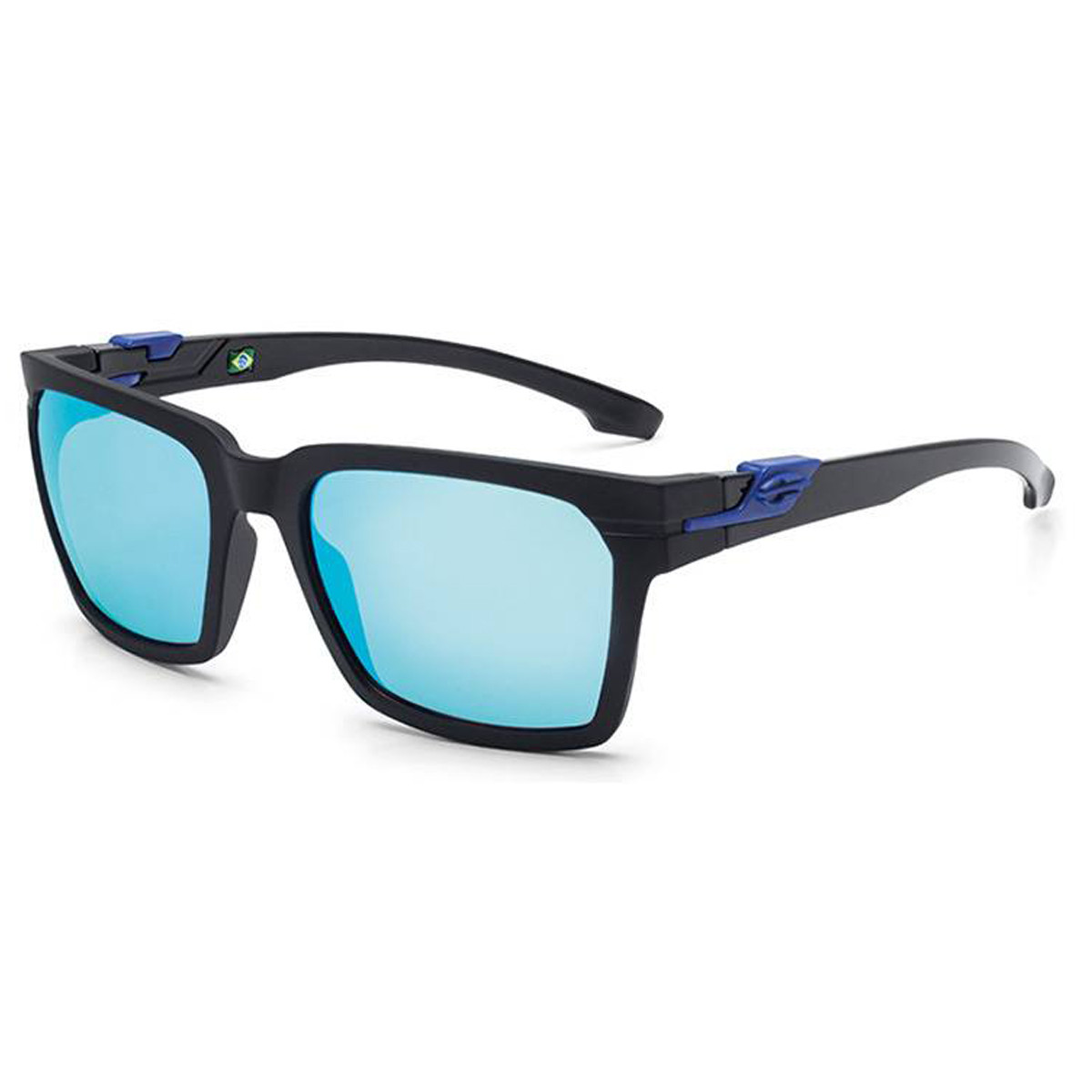 5379a9b336080 Óculos Mormaii Las Vegas Preto Fosco Lentes Cinza Azulado ref M0057AAU12
