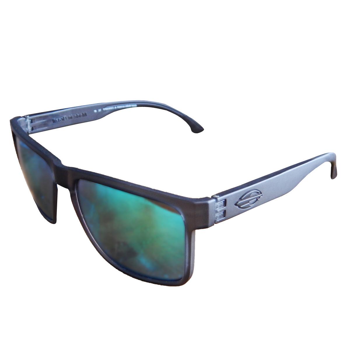 c101874f61af6 Óculos Mormaii Monterey Preto Fume Fosco  Lente Verde ref M0029A2285