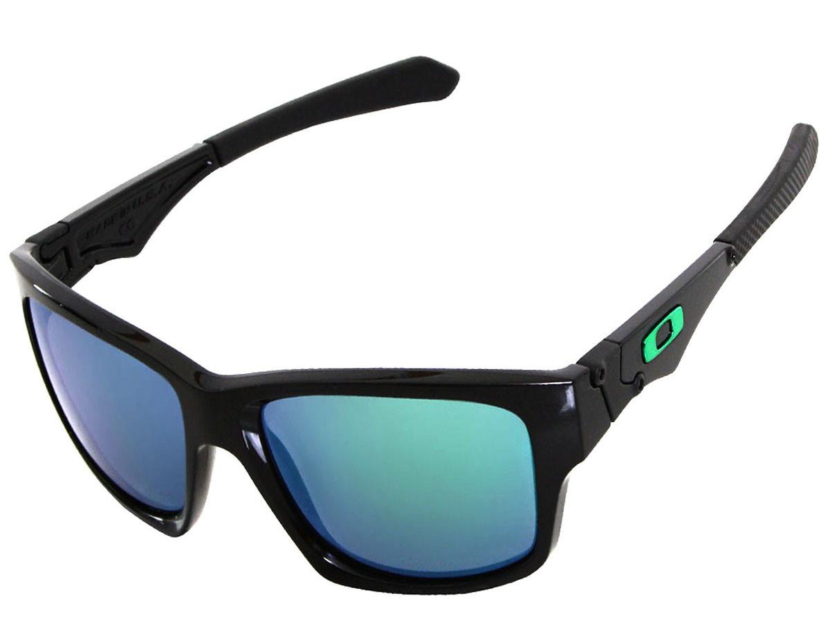 eb132901b3aa5 Óculos Oakley Jupiter Squared Polished Black Lente Jade Iridium ref ...