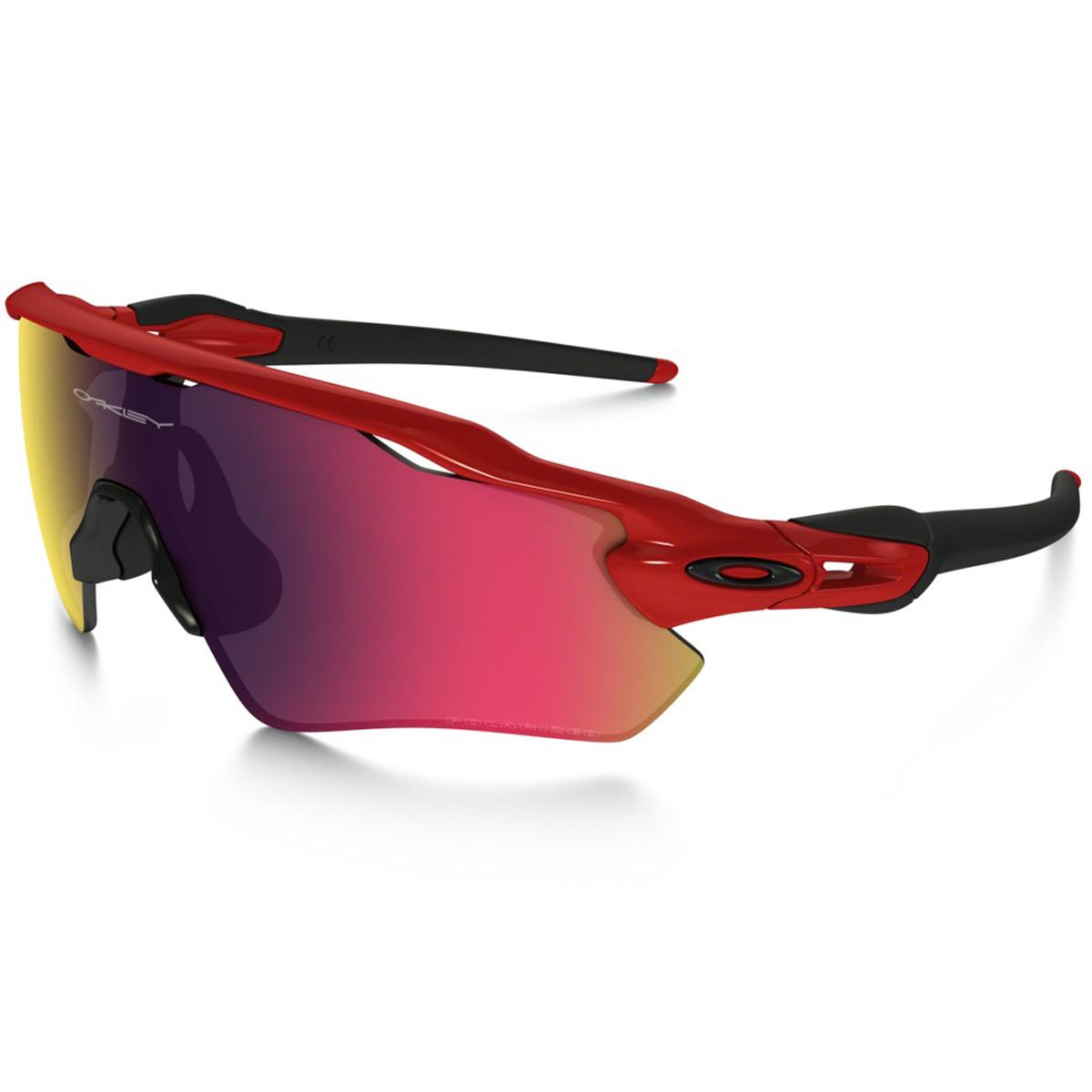 Óculos Oakley Radarlock EV Red iridium Lente Red Line Polarizado ref ... bf63c84f44