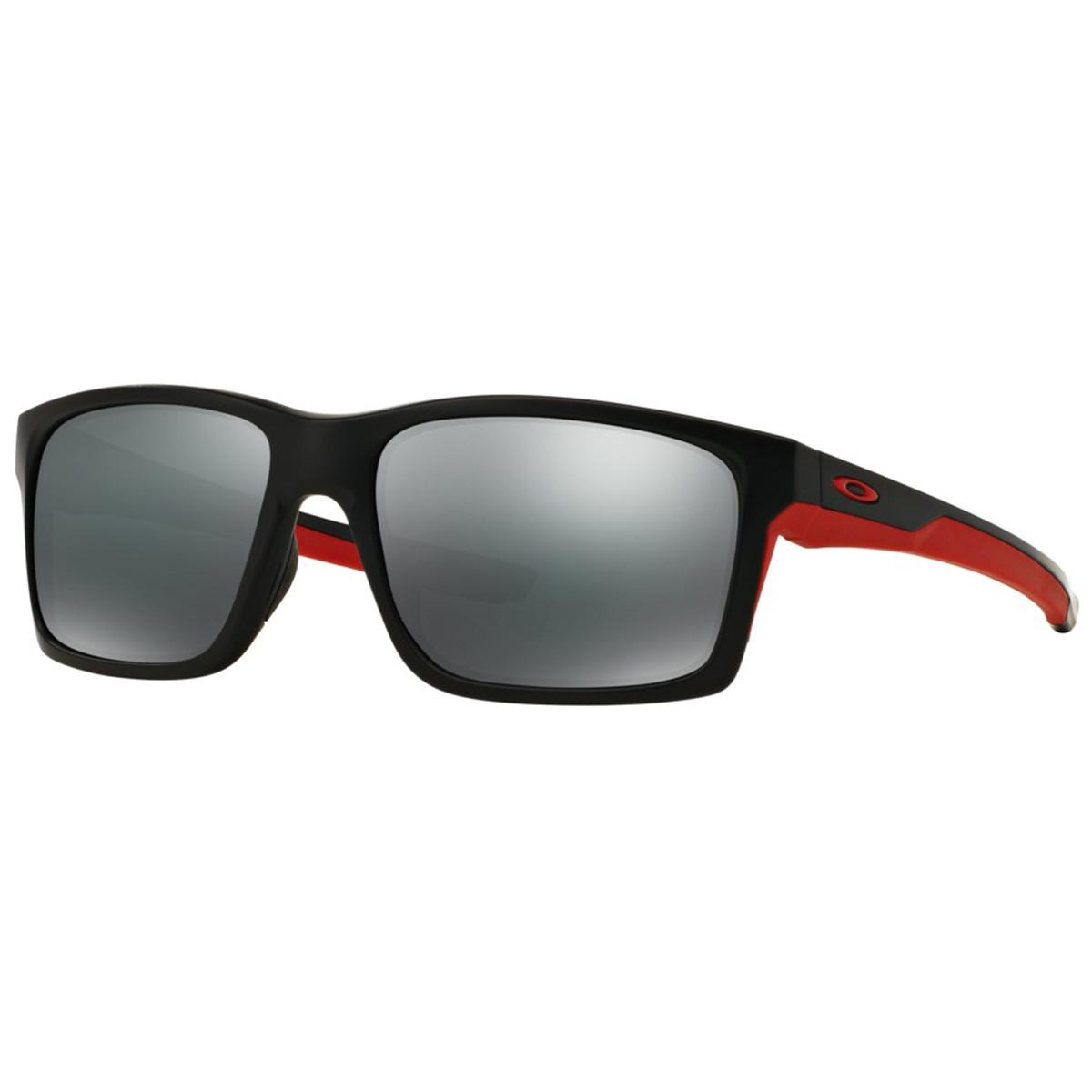7d30082884440 Óculos Oakley Mainlink Matte Black  Lente Black Iridium ref OO9264-12