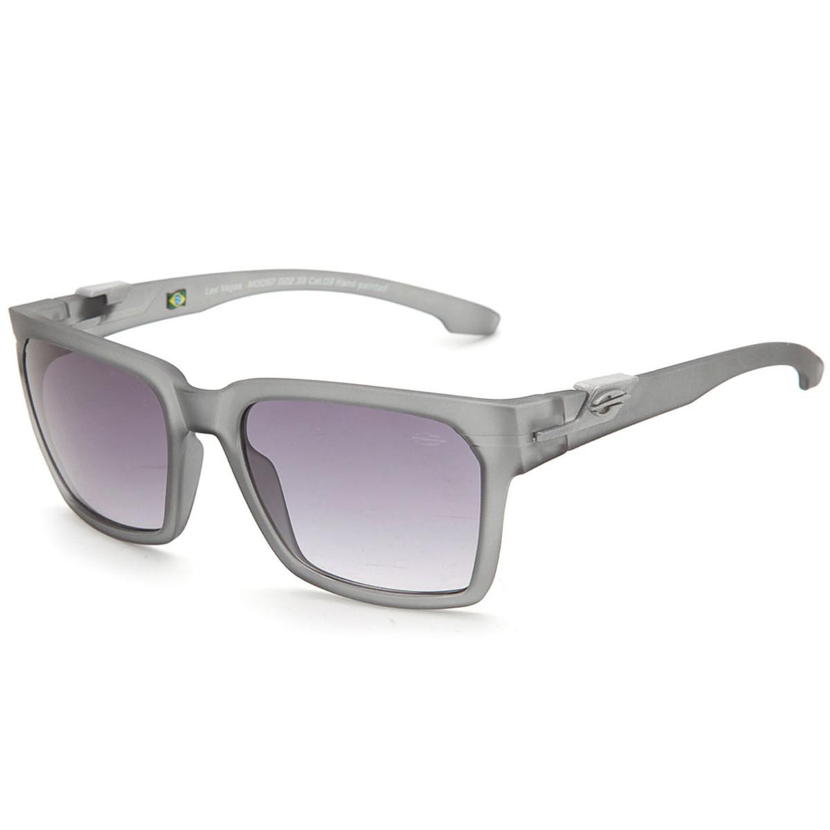 9007eb655e6c7 Óculos Mormaii Las Vegas Fume Fosco Lente Cinza Degrade ref M0057D2233