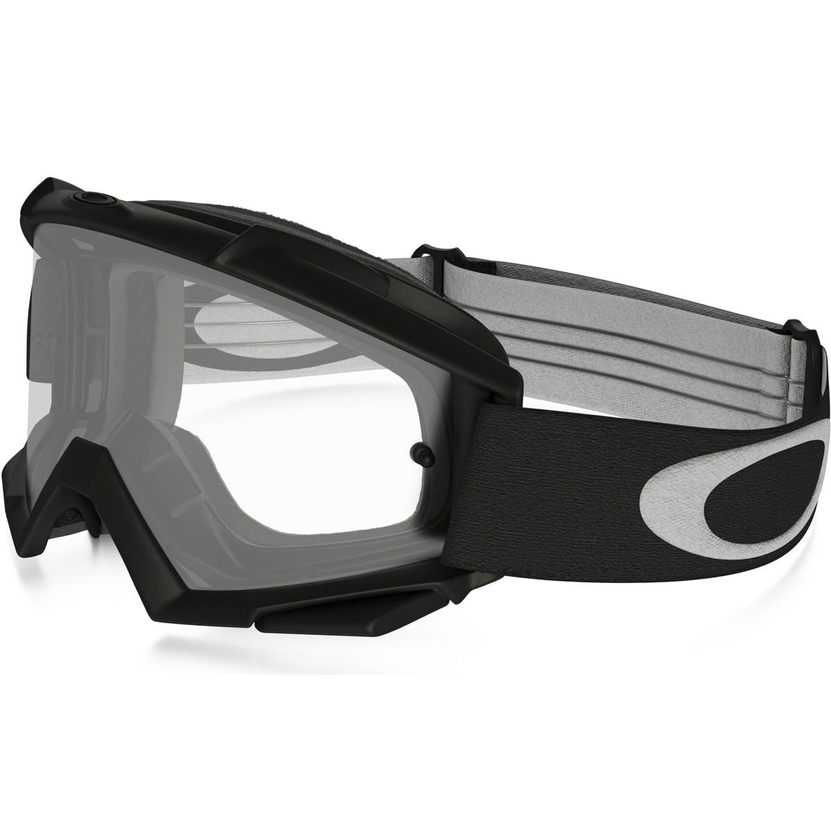 0f9011d5cfd25 Óculos Goggle Oakley Proven MX Matte Black Lente Clear ref 01-718