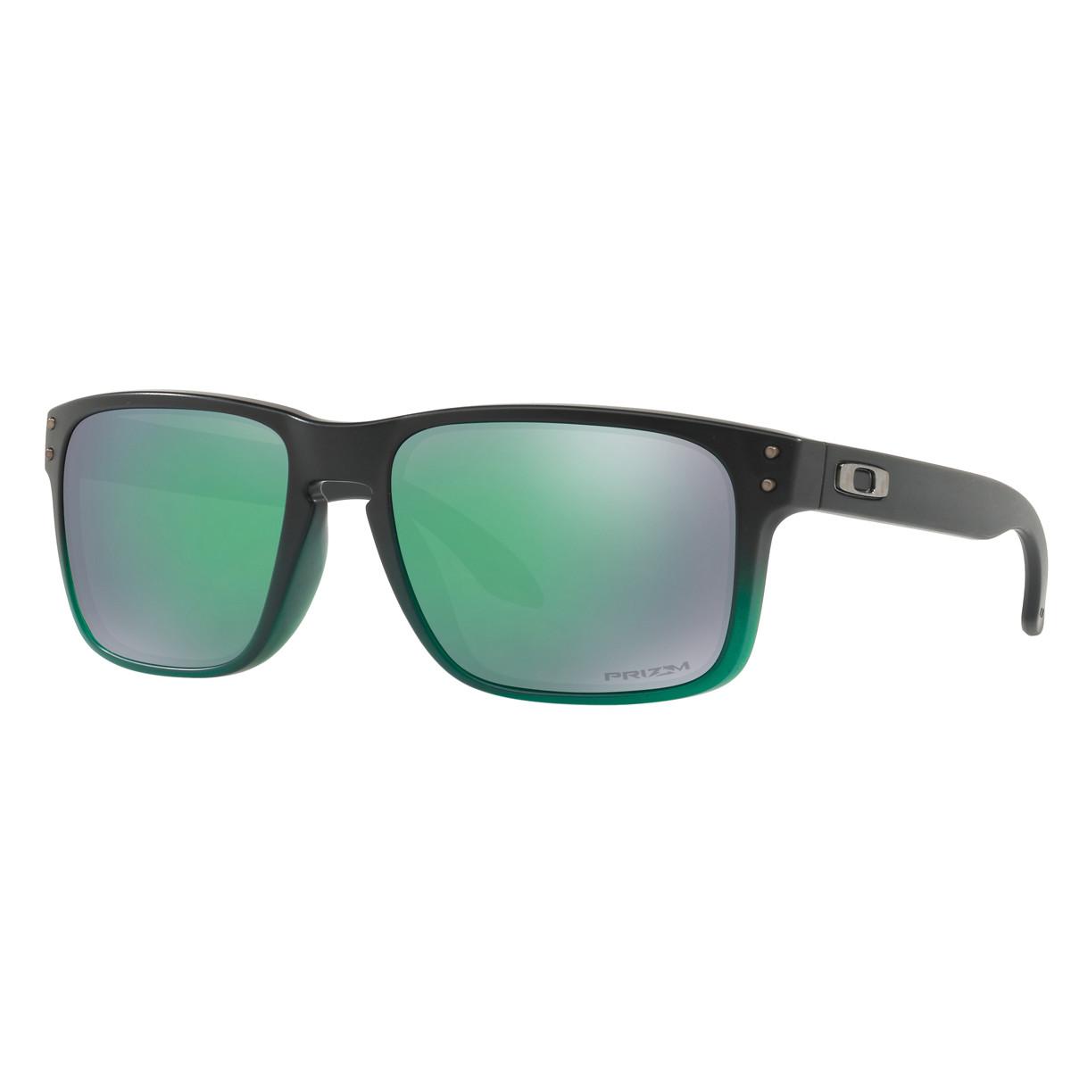 c59f73acfd8e3 Óculos Oakley Holbrook Jade Fade  Lente Prizm Jade Iridium ref OO9102-E4