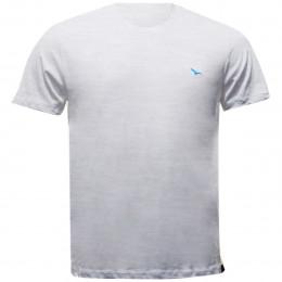 Rx Camiseta Alma De Praia Flamê Gola Redonda Branco