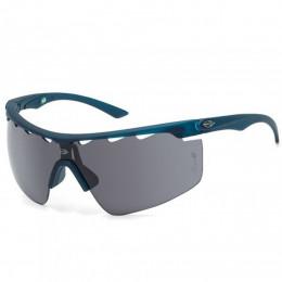 7ea33a3b0 Óculos Mormaii Athlon 4 Azul Petróleo Fosco/Lente Cinza