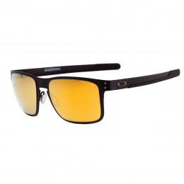 89c818b2a99c0 Óculos Oakley Holbrook Metal Matte Black  Lente 24K Gold Iridium