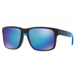 389ab75eadb3e Óculos Oakley Holbrook Matte Black  Lente Prizm Sapphire Polarizado