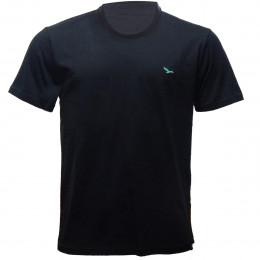 Rx Camiseta Alma De Praia Gola Redonda Lisa Preto