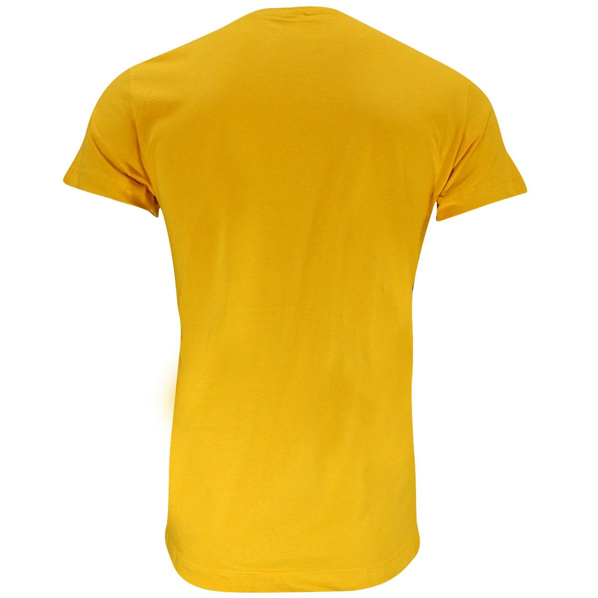 87fa06c2c7 Camiseta Mormaii Logo Bordado Amarela passe o mouse para ver em zoom