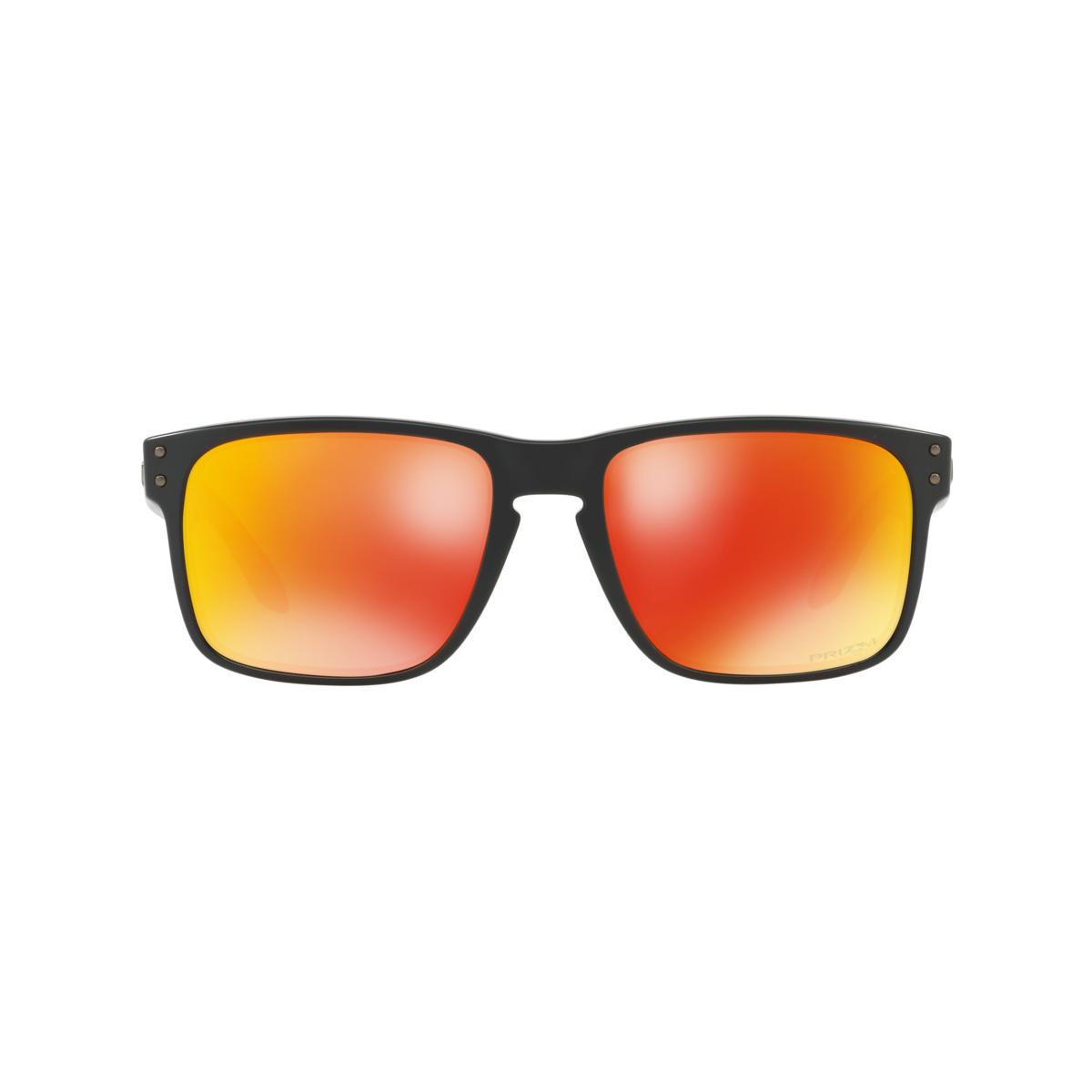 Óculos Oakley Holbrook Matte Black  Prizm Ruby ref OO9102-E2 9acf867af3